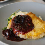 Pork Cutlets with Cherry Sauce