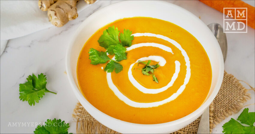 Curried Cream of Carrot Soup