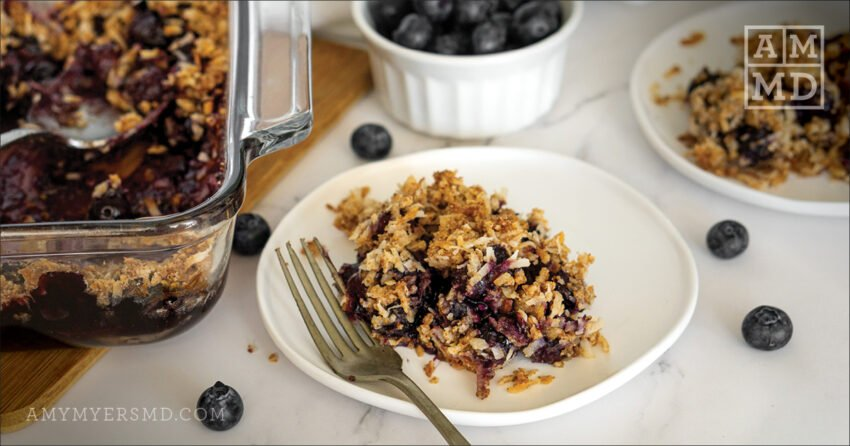 AIP Blueberry Crisp