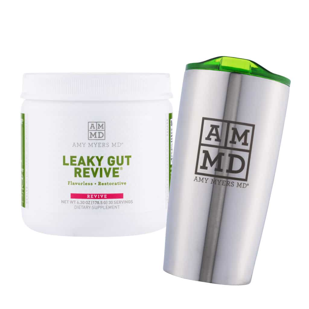 Leaky Gut Revive and a Tumbler
