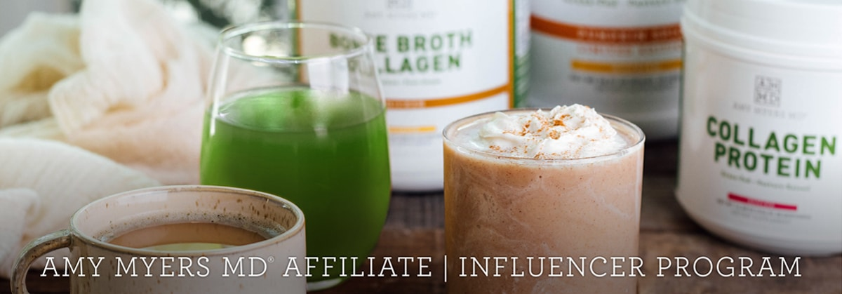 Amy Myers MD® affiliate   influencer program. Amy Myers MD products.